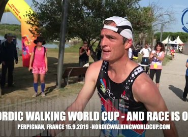 Nordic Walking World Cup in Perpignan, FRANCE 15.9.2019